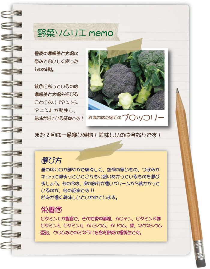 野菜ソムリエMEMO