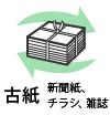 古紙(新聞紙、チラシ、雑誌)